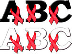 To support awareness of drunk driving during the holidays, Lettering Delights is offering its Red Ribbon alphabet for free download.