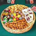 Chocolate & Nut Game Treat Basket