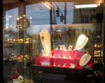 Jason Lord jewelers window display