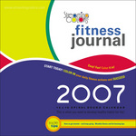 2007 Streaming Colors Fitness Journal Cover