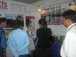 Visitors at the NATS  booth  during SISPAT Conferance