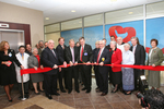 The dedication of the Active International Cardiovascular Institute at Good Samaritan Hospital, in Suffern, N.Y., was capped with a ribbon cutting by local and regional dignitaries, community leaders, physicians and other healthcare professionals, and leadership from area hospitals.  The first open heart surgery procedure is scheduled to be performed at the Institute in early January.