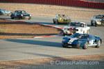 Historic motorsports battle