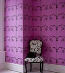 Homeowner Resolution: To Add a Touch of Glamour with Designer Wallpaper