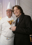 "Chef Christian ""Kit"" Kiefer backstage with Clay Aiken"
