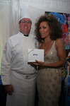 "Chef Christian ""Kit"" Kiefer backstage with Vanessa Williams"
