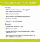 Documents Needed to Fill Out the FAFSA