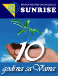 Sunrise logo in Bosnian