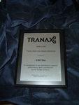 Industry Award from Tranax