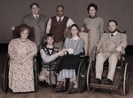 """PHAMALy - Cast of """"Our Town"""" Photo by Michael Ensminger"""