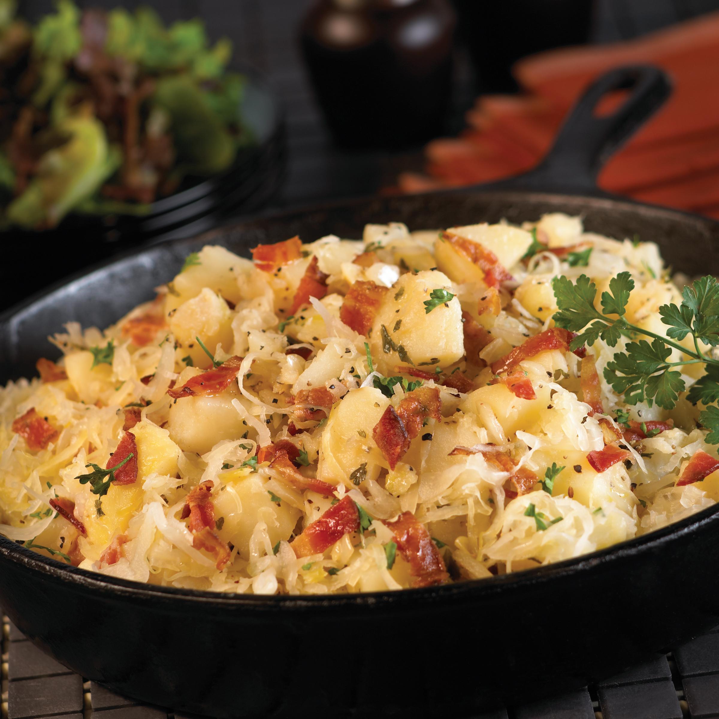Hot German-Style Potato Salad Recipe - EatingWell  German Hot Dish
