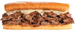 D'Angelo One Pound Steak and Cheese Sandwich