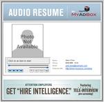 Typical Audio Resume Format Found at Unique URL