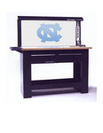 North Carolina Tar Heels NCAA PegPanel in Workbench.