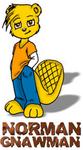 Norman Gnawman - The Official DCHealth.TV Mascot