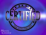 Music Choice Certified logo