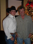 Country Legend Eddy Raven  and Todd chat before the