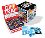 GiftTRAP is neatly packaged in a cool cube.