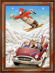 """""""Once Upon a Time Over Vail"""" by Artist Anton Arkhipov is the official artwork of the 17th annual Taste of Vail."""