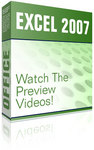 Excel 2007 Preview Videos Boxshot