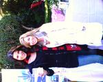 Adrienne Janic with Curvelle at the Golden Globes gifting party.