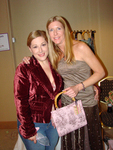 Carnie Wilson and Suzanne Longacre of Suzibella at the Boom Boom Room Celebrity Gifting Suite