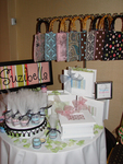 Suzibella's Product Display at the 2007 Boom Boom Room