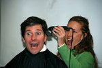 Pre-Mohawk:  InsureMe employees taking the clippers to CEO