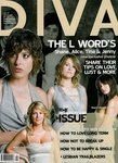 Diva magazine, front cover February 2007