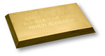 425-Troy-ounce gold bar poured by Northwest Territorial Mint for Gary Hill.