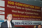 Colin Coulson-Thomas speaking at World Congress