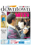 Art on the cover of Downtown Newspaper