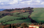 Photo of Val D'Orcia in Tuscany