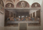 Flat panorama of DaVinci's Last Supper