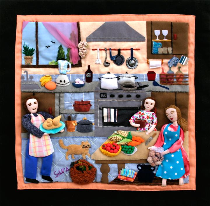Kitchen Art America Inc: Arpillera Art Quilts: The New Trend In Home Decor