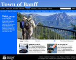 Visiting Banff's New Website