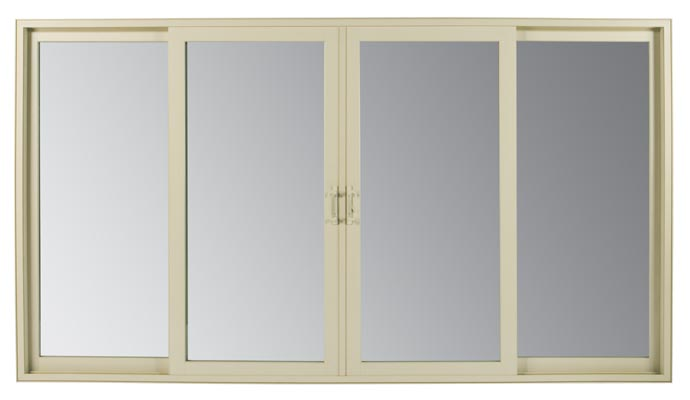 Heritage Series French Style Sliding Patio DoorThe AMSCO Heritage Series  French Style Sliding Patio Door Is Shown Here In A White, 2 Panel  Configuration ...
