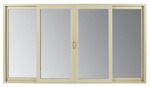 Renaissance Series Contemporary style sliding patio door