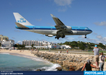 PH-BFG KLM at SXM