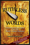 The Cover Of The New Book Ruthless Words