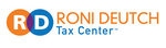 The Roni Deutch Tax Center Logo