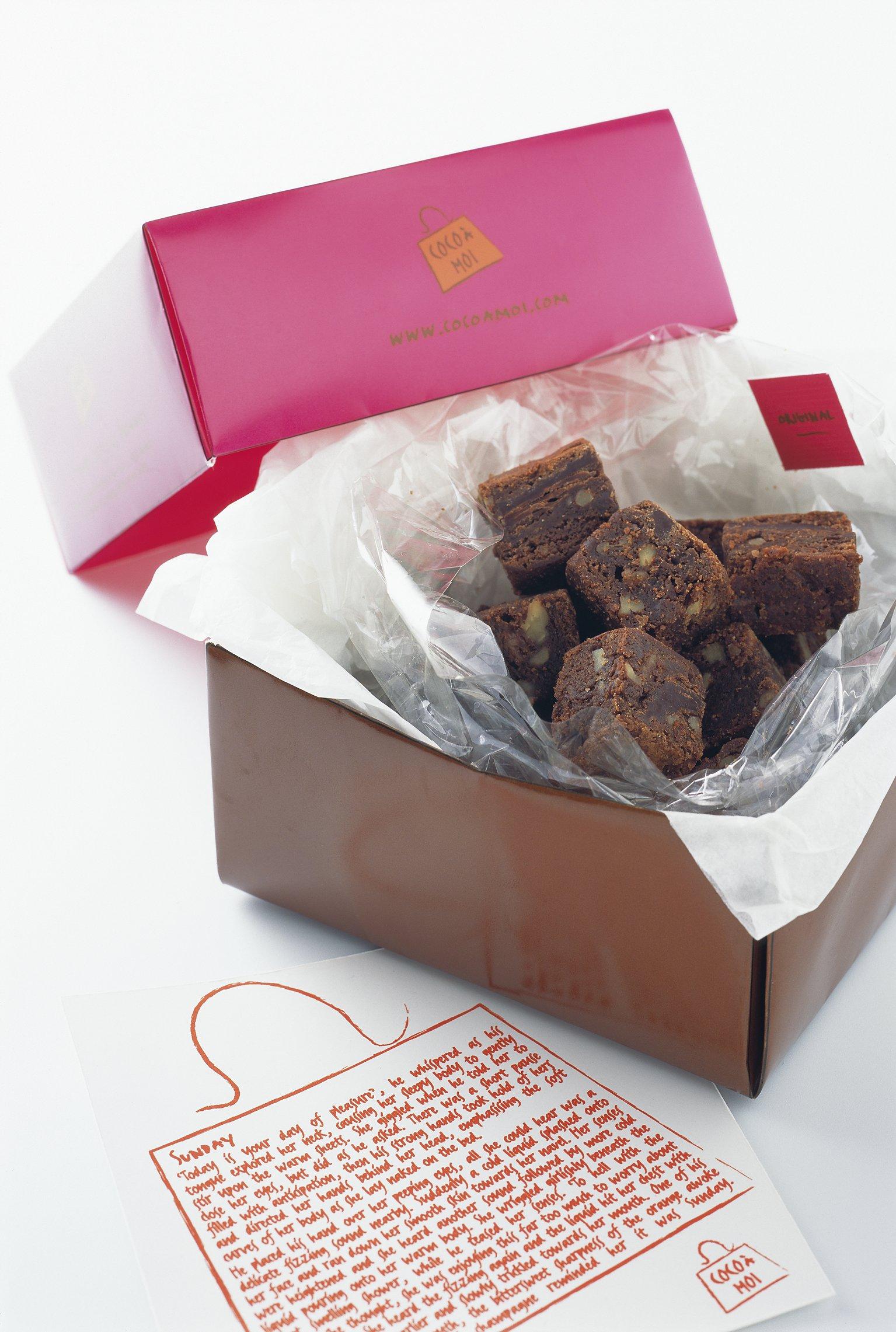 Orange Chocolate Gift Box