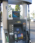 Actual Installation of PumpMedia solution at gas station