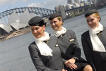 Etihad Flight Attendants in front of Sydney Opera House