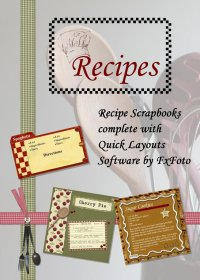 Recipes Project CD Covercover For The FxFoto