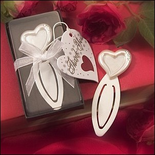 Wedding Favors Supplier My Reception Ideas Announces Bookmarker