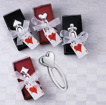 Wedding favors supplier my wedding reception ideas announces bookmarker wedding favorsbookmarker favors are available in a variety of styles and themes to compliment any special occasion junglespirit Gallery
