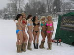 Bikini Ice Fishing