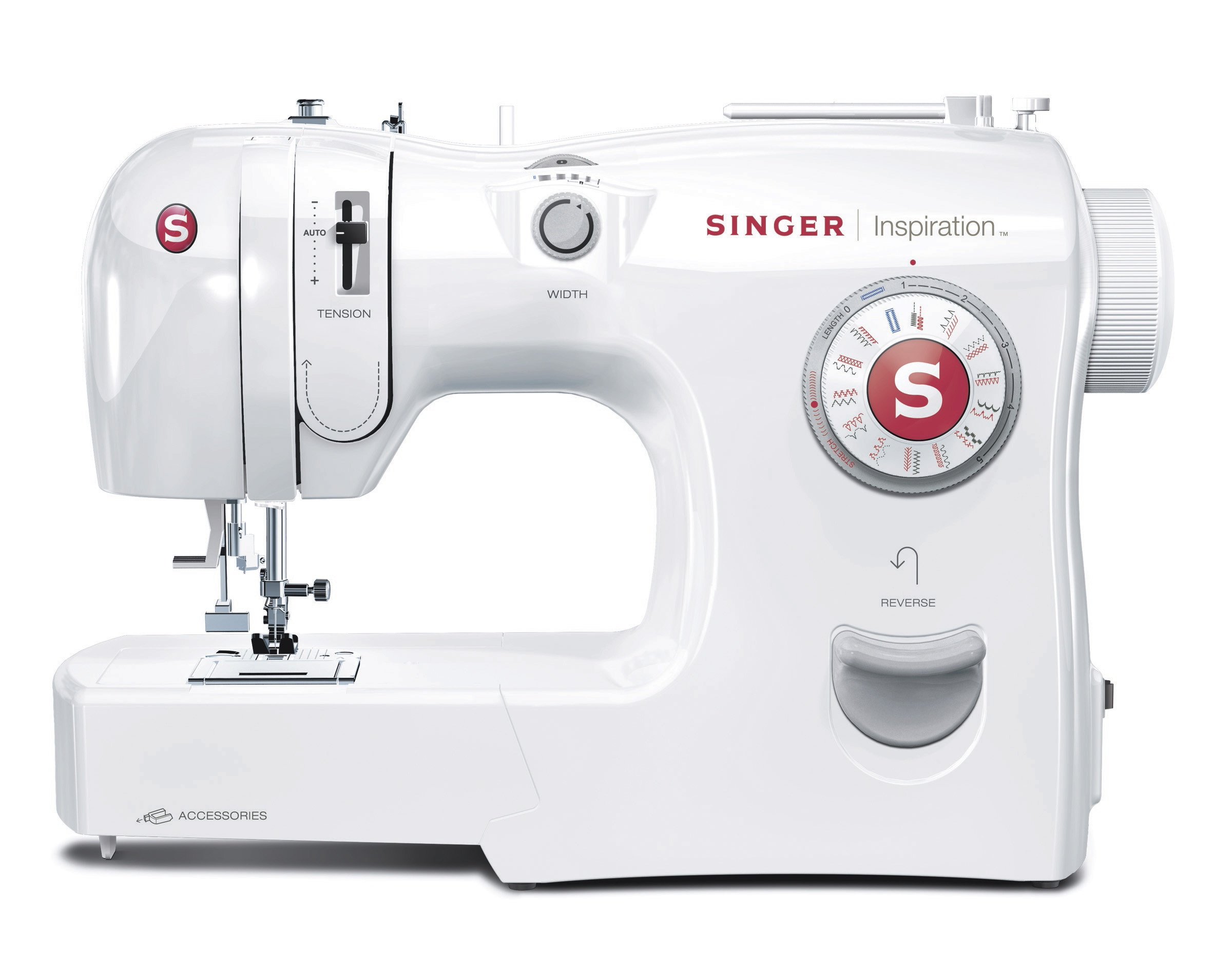 the new singer inspiration tm sewing machines simplify sewing for beginners new sewers help. Black Bedroom Furniture Sets. Home Design Ideas