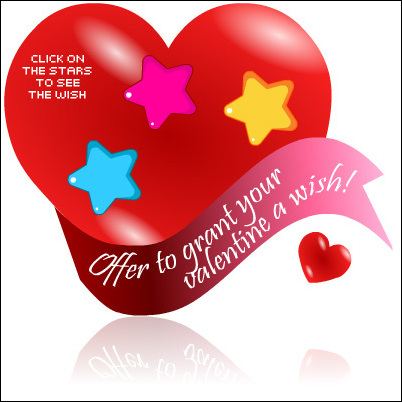 Valentine's Day Widget :  shopping love blogs widget